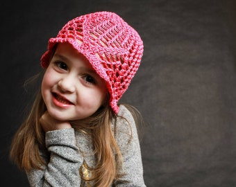 The Allison - toddler/girl's hat pattern