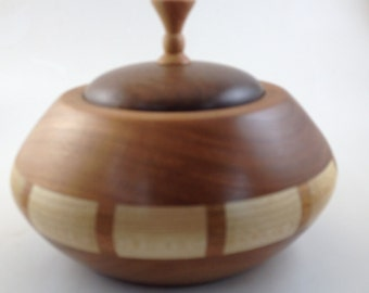 Lidded Turned Pot