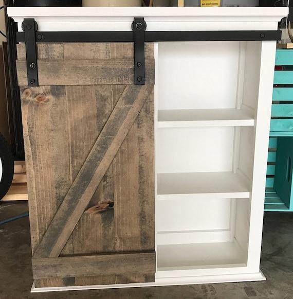 superior Medicine Cabinet Etsy Part - 14: Barn Door Medicine Cabinet | Etsy