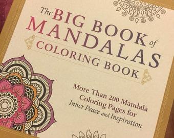 Coloring Book Mandalas Art Adult Chakra Sets Yoga Meditation Gifts Get Well Gift Birthday