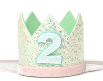 Unicorn Cake Smash Crown Birthday