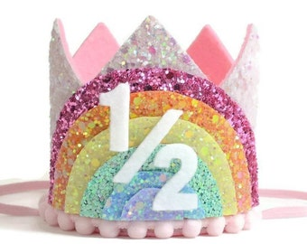 1 2 Birthday Crown