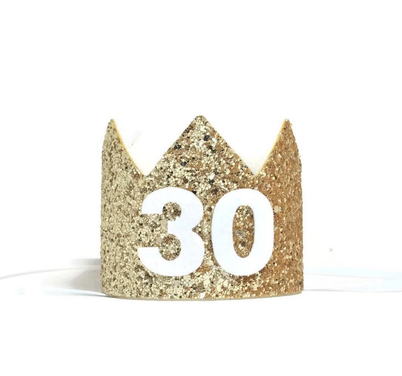 30th Birthday Crown For Her Adult
