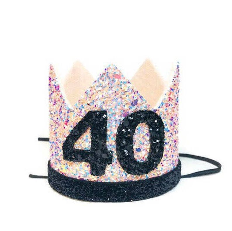 Birthday Crown Adult 40th 30th
