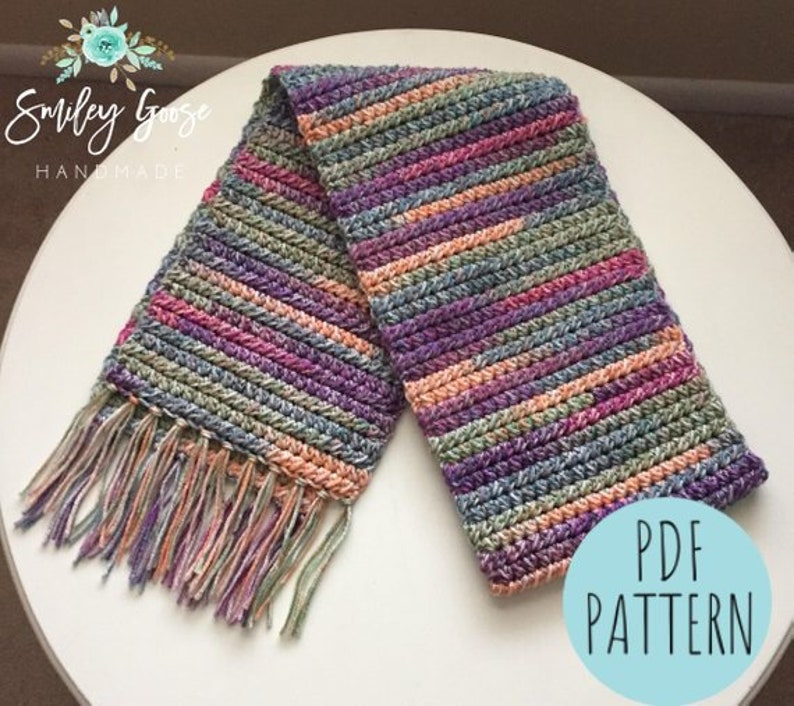 Easy crochet patterns for beginners scarf