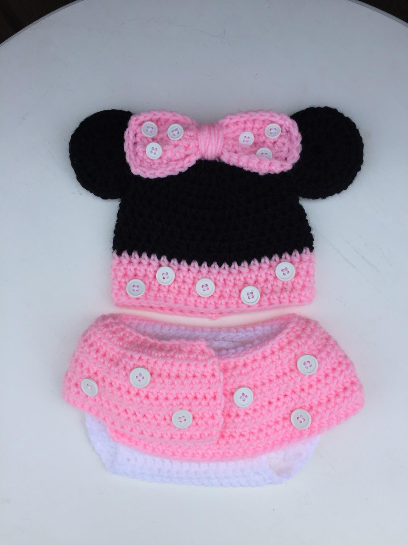 Babymütze Minnie Mouse Minnie Mouse inspiriert Babymütze &