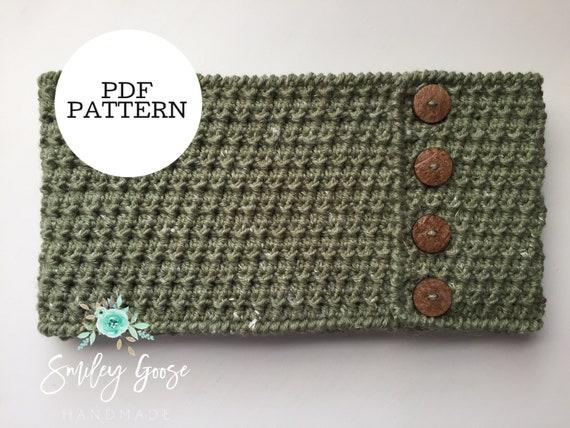 Crochet Scarf Pattern Willa Infinity Scarf Easy Scarf Pattern Infinity Scarf Patterneasy Crochet Patternscarf Patterndouble Wrap Scarf