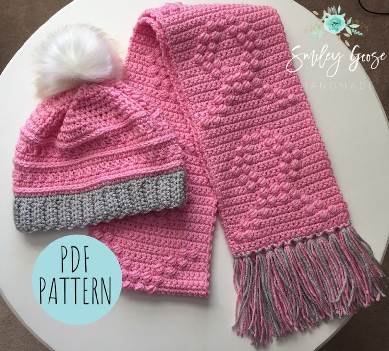 Breast Cancer Awareness Scarf   Hat Pattern Breast Cancer  8069b5eb24e