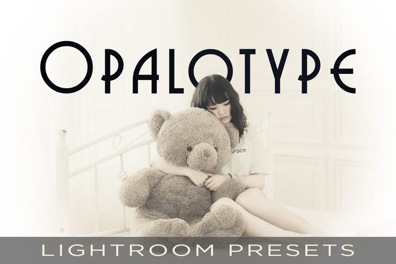 Vintage Opalotype Presets  For Adobe Lightroom Classic CC image 0