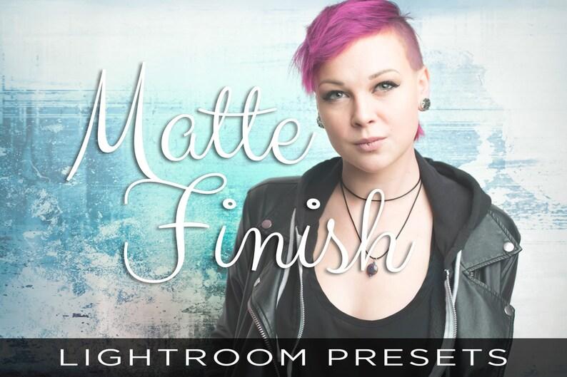 Matte Finish Presets  For Adobe Lightroom Classic CC Adobe image 0