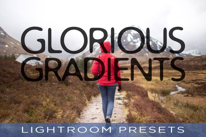 Glorious Gradients Presets  For Adobe Lightroom Classic CC image 0