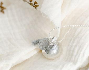Pregnancy Bola PLEINE LUNE Emma pompom duck silver
