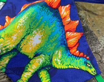 Stegosaurus Dinosaur Mask with Filter Pocket  - PM2.5 filter included