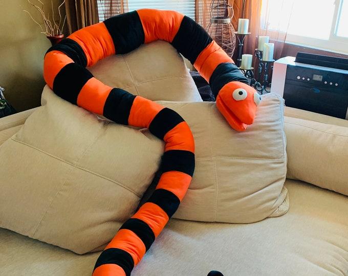 Nightmare Before Christmas Snake - 11.5 feet