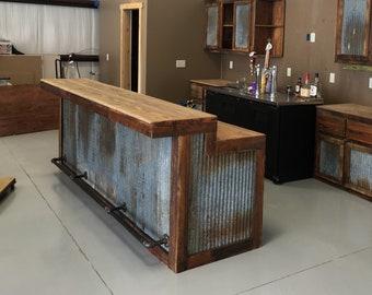 Rustic Bar Etsy