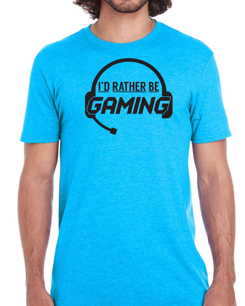 3bc08053b I'd Rather Be Gaming video game online playstation xbox pc | Etsy