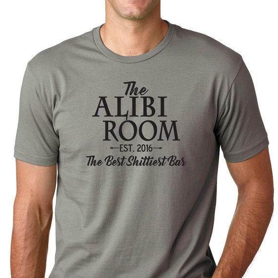 the alibi room t shirt
