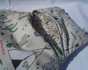 Teepee Pajama bag ecru baby to hang