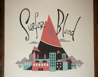 Surfer Blood - gig poster