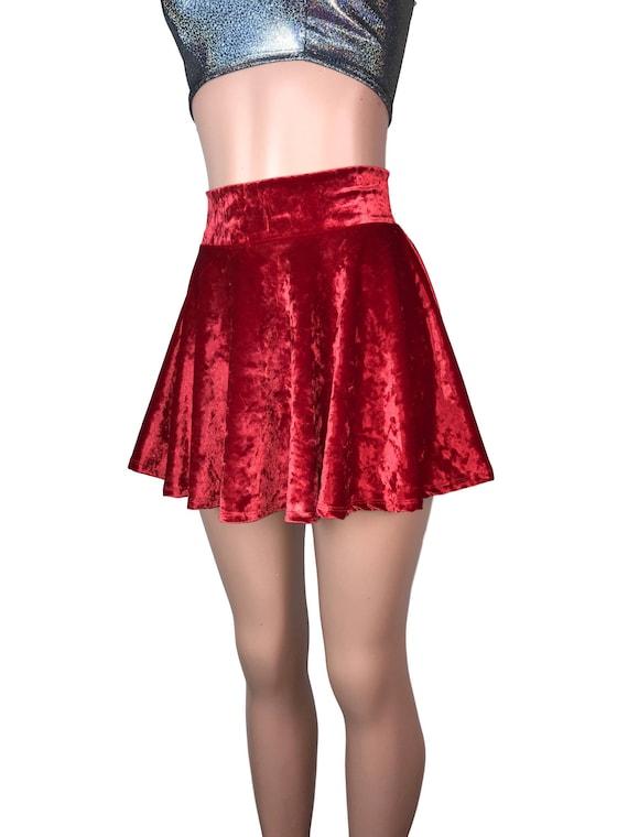 purple crush velvet custom made skirt 10 12 14 16 18 20 22 24 26 28 30 32 34 36