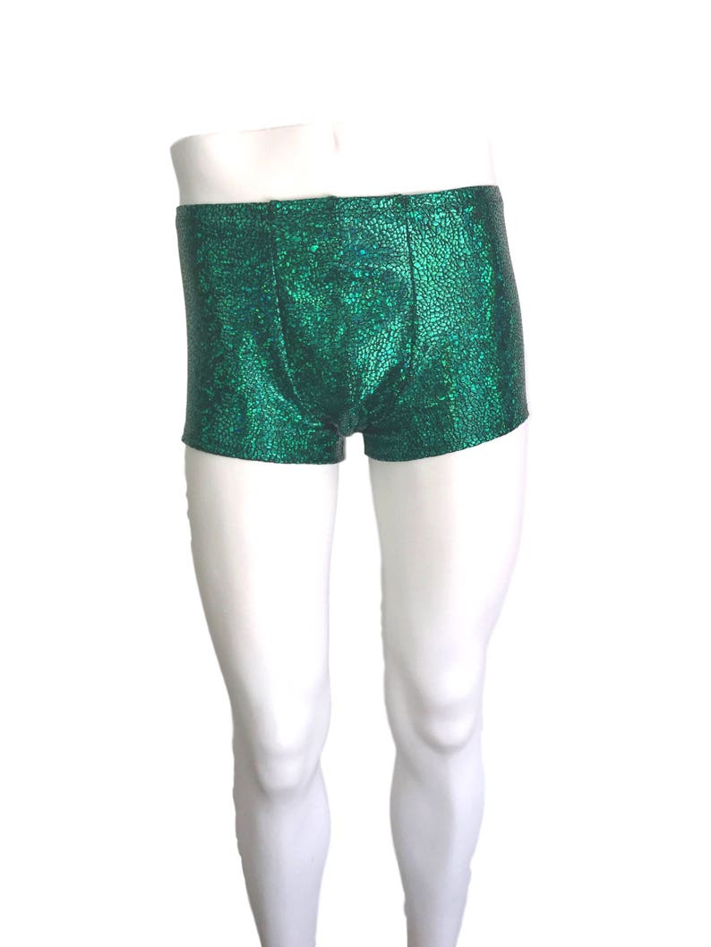 98408b8b7c Men's Green Avatar Dragon Booty Shorts Boxer Brief | Etsy