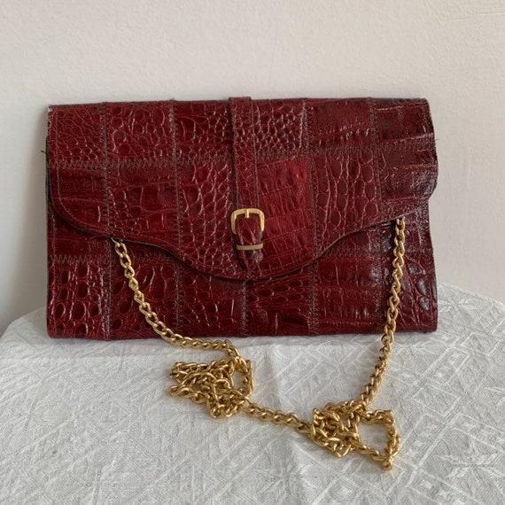 Mango de Oro para Mujer Bolso De Cuero Bolso Pequeño Mini Bolso de Mano Bolso De Mano Bandolera