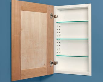 Shaker Style Recessed Medicine Cabinets   Available In White Or Unfinished  U0026 3 Sizes!