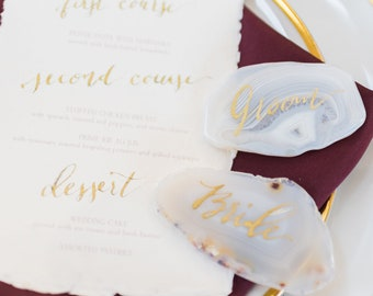 Wedding calligraphy | Etsy