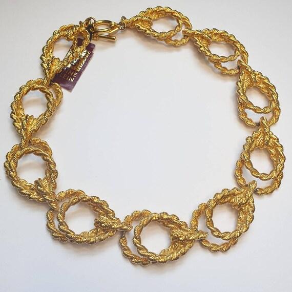 Anne Klein Gold Chain Link Necklace