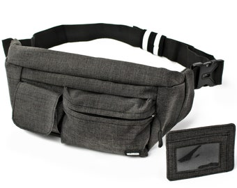 Angry Shark Sport Waist Pack Fanny Pack Adjustable For Travel