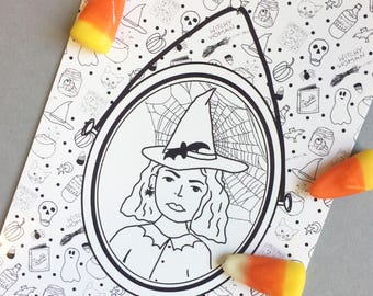 Witchy Woman - Print 4x6