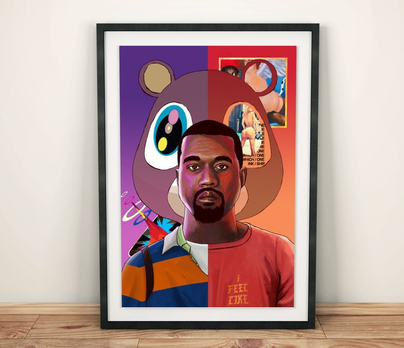 ab751344485a2 Kanye West Poster