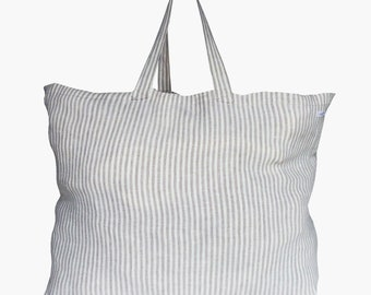 Bag fina from linen-weekender-shopper-Beach Bag