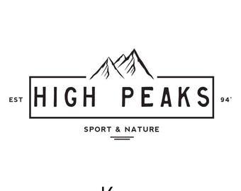 mountain logo etsy