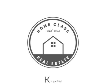 Home Logo Design House Logo Real Estate Logo Home Decor Etsy