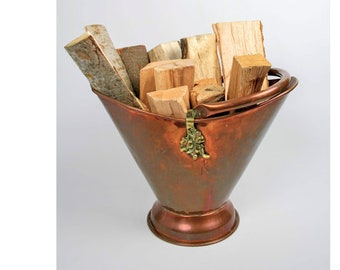 Frans koper waterkoker Frans ketel antieke koperen Pot koper