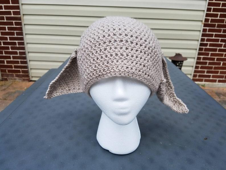 Crochet Dobby the House Elf Crochet Hat Beanie Harry Potter  7aaad9504ec