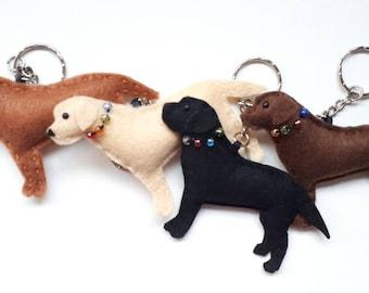 Labrador Lab Bag Charm / Keyring / Hanging / Gift