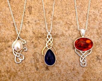 Swirl Necklaces