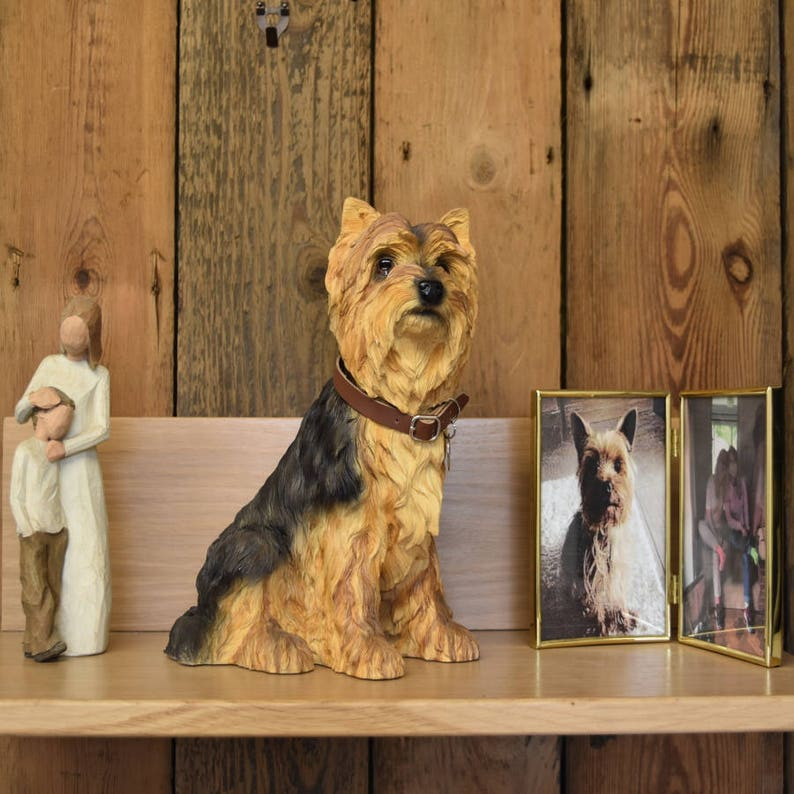Yorkshire Terrier  Urn to safely store your dogs ashes image 0
