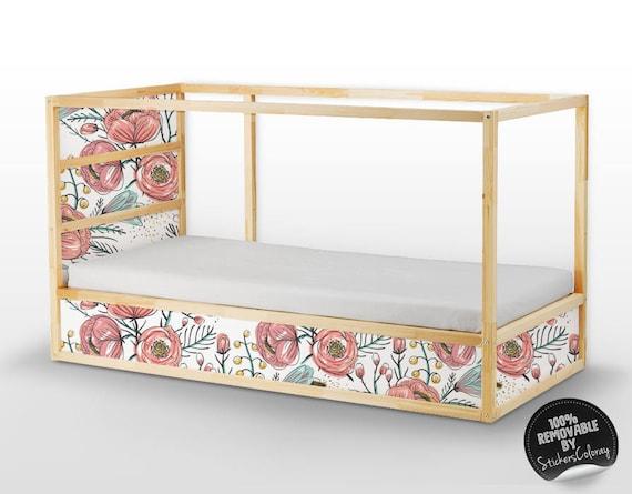 Kura Bett Ikea Vintage Rosen Tapeten Aufkleber Set PACK 5 | Etsy