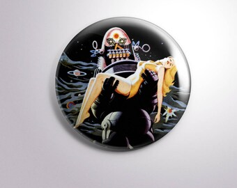 FORBIDDEN PLANET - pins / buttons / magnets - MOVIE