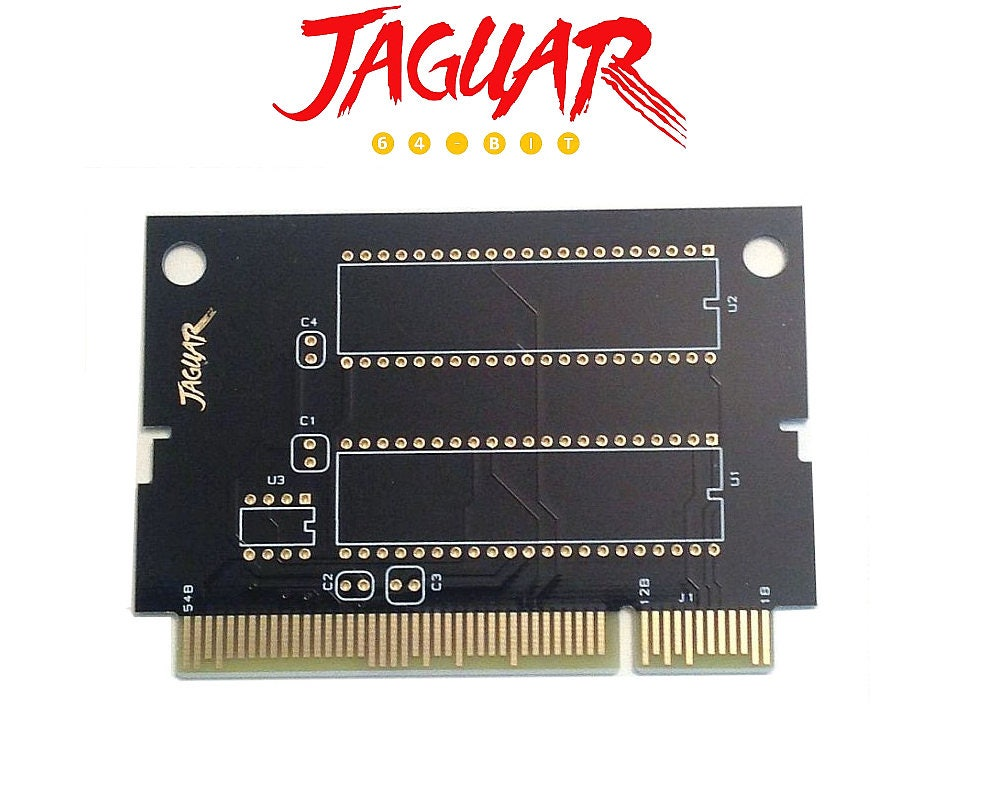 Atari Jaguar Game Cartridge Circuit Board Pcb Etsy Assembly Buy Boardpcb