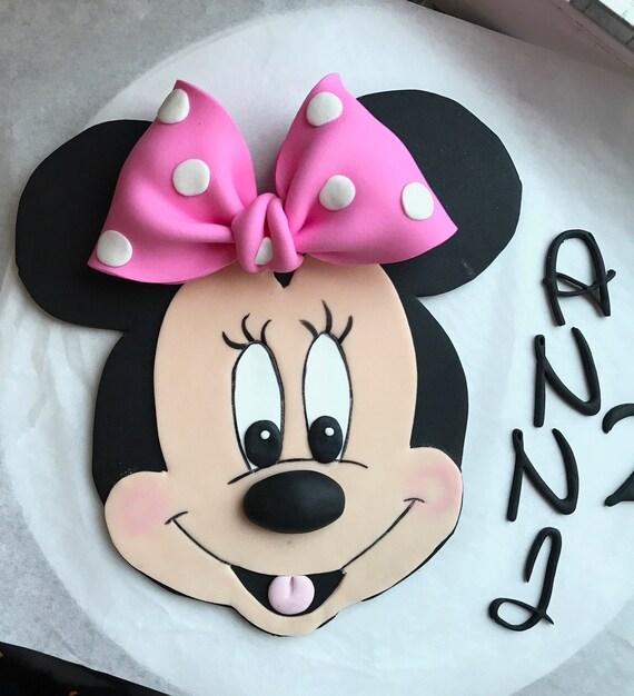 Minnie Fondant Cake Kit