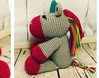 Crochet Unicorn Stuffed animal