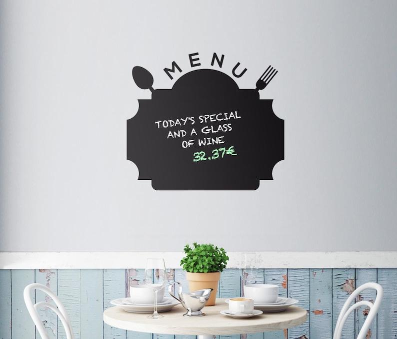 HUGE UK Chalkboard Blackboard Vinly Wall Stickers Mural Decals Art 45x200cm