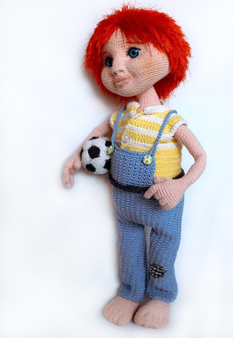 Crochet Pattern Boy Yasha