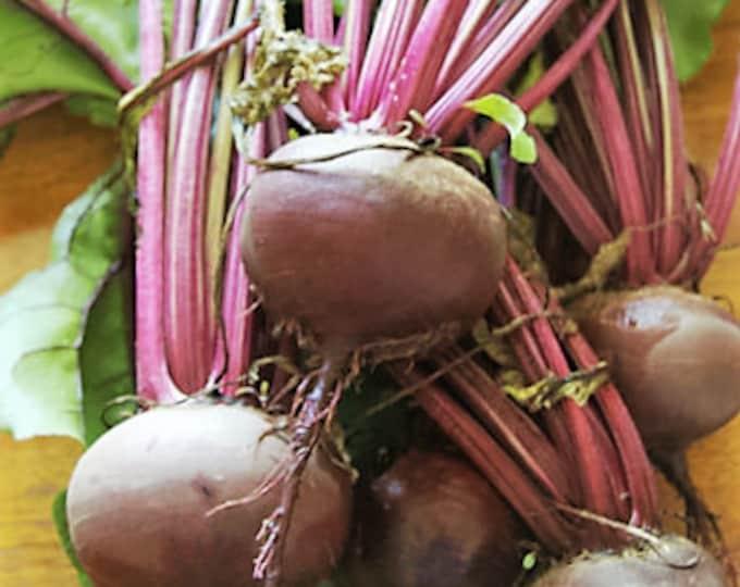 250 DETROIT Dark RED BEET Heirloom Beta Vulgaris Vegetable Seeds