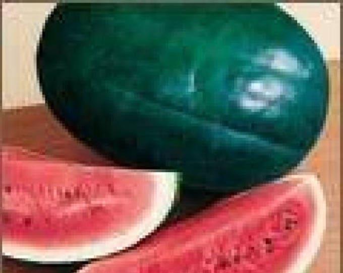 50 FLORIDA GIANT WATERMELON Cannon Ball Black Diamond Citrullus Fruit Seeds
