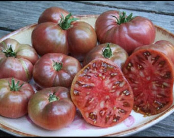 100 PURPLE CHEROKEE TOMATO Lycopersicon Lycopersicum Fruit Vegetable Seeds